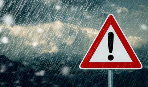 أمطار غزيرة في هذه الولايات والكميات تناهز الـ 120 مم مع تساقط البرد