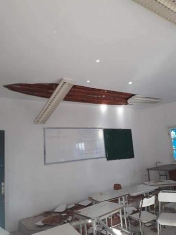 المهدية: إصابة أستاذ وعدد من التلاميذ إثر انهيار جزء من سقف قسم بمعهد ثانوي