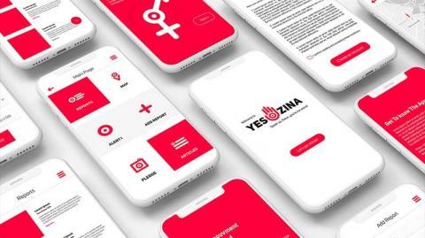 اطلاق تطبيقة الكترونية للتبليغ عن حالات التحرش في تونس