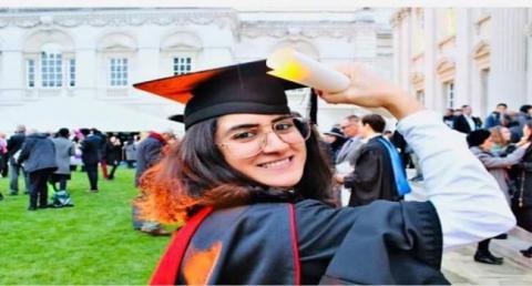 أول طالبة تونسية تحصل على الدكتوراه من جامعة كامبردج