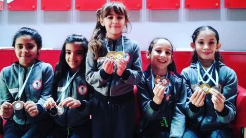 في مسابقة عالمية للجمباز الإيقاعي: صغيرات يعدن إلى تونس بالذهب