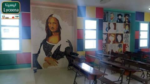 جندوبة: فنان تشكيلي يحوّل المدرسة الإعدادية ببني مطير إلى لوحة فنية