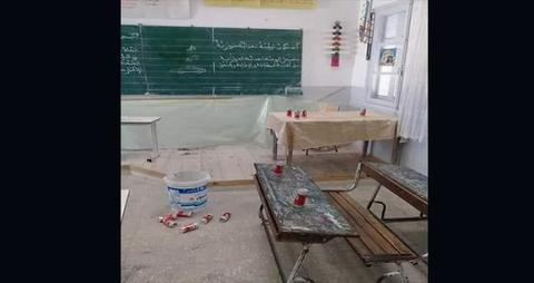 في عيد الثورة.. قوارير جعة وخمرة في مدرسة ابتدائيّة