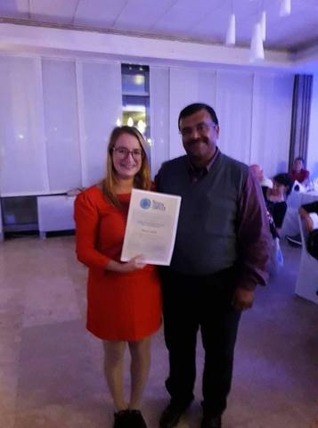 """كرواتيا: تألق طالبة تونسية بنيلها جائزة متوسطية لأحسن بحث علمي حول """"السلاحف البحرية"""""""