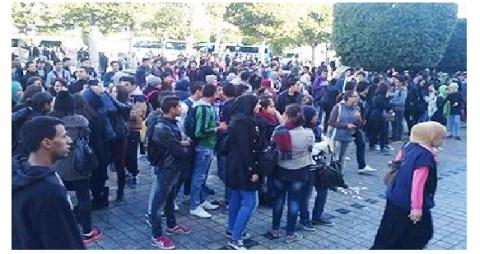 نابل: تحركات التلاميذ تتحول إلى أعمال عنف ورشق المربين بالحجارة