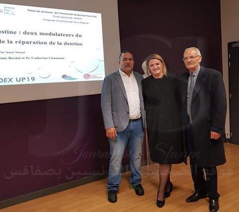 نوال عمري أول طبيبة أسنان تونسية تتألق في جامعة السوربون وتنال الدكتوراه