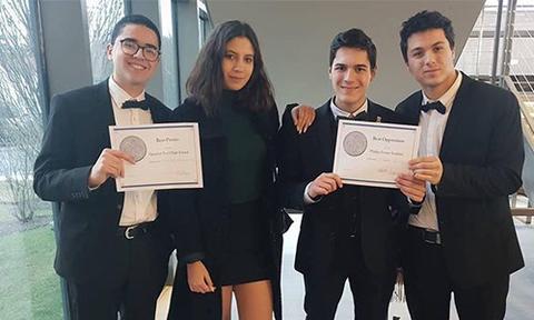 تلاميذ تونسيون يتوجون بثلاث جوائز في مسابقة الفيزيائيين الشبان بالولايات المتحدة الامركية
