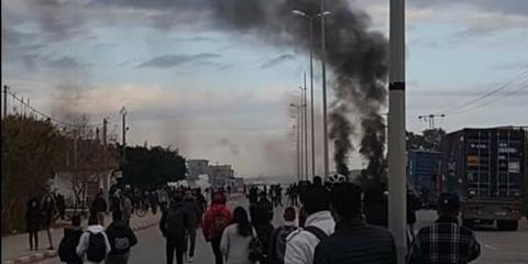 فوشانة :عمليات كر وفر بين التلاميذ وقوات الحرس