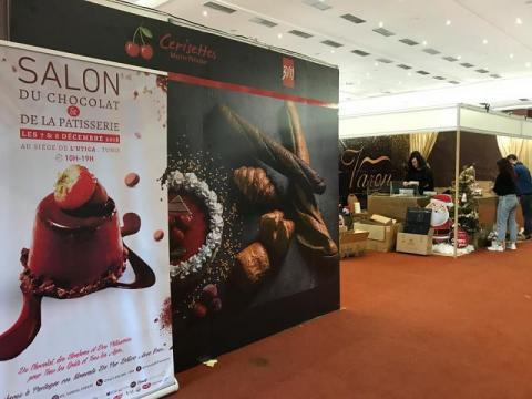 لأول مرة: صالون الشوكولاتة والحلويات في تونس