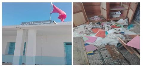 سيدي بوزيد: تخريب مدرسة إعدادية بعد التسلل إليها ليلا
