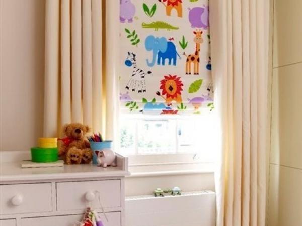 لغرفة نوم طفلك.. أجمل تصاميم الستائر